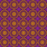 Abstract geometric seamless pattern. Brown style pattern with ci Stock Photography