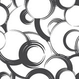 Abstract geometric seamless pattern. Bubble ornamental backgroun Stock Images