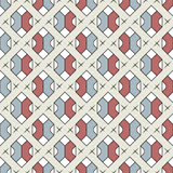 Abstract geometric seamless pattern. Royalty Free Stock Images
