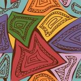 Abstract geometric seamless pattern Stock Image