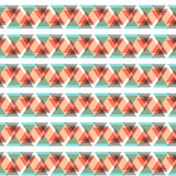 Abstract geometric seamless pattern Stock Photos