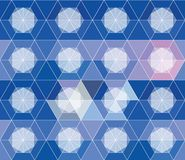 Abstract geometric seamless pattern for design Stock Photos
