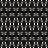 Geometric seamless pattern. Elegant lace texture. Traditional motif. Abstract geometric seamless pattern. Elegant lace texture. Black and white background with Stock Images