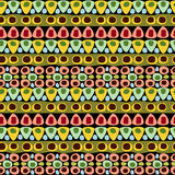 Abstract Geometric Seamless Pattern Stock Photo