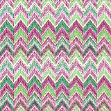 Abstract geometric seamless pattern. Fabric doodle zig zag line Royalty Free Stock Photos