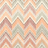 Abstract geometric seamless pattern. Fabric doodle zig zag line Royalty Free Stock Photo