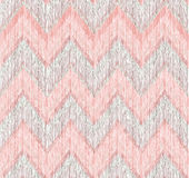 Abstract geometric seamless pattern. Fabric doodle zig zag line Royalty Free Stock Images