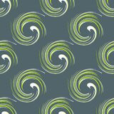 Abstract geometric seamless pattern on a gray background. Quality vector illustration for your design royalty free illustration