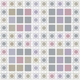 Abstract geometric seamless pattern with grey Royalty Free Stock Image