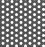 Abstract geometric seamless pattern. Hexagon background. Stock Photo