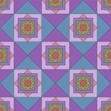 Abstract geometric seamless pattern.  illustartion Stock Photo