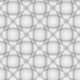 Abstract geometric seamless pattern. Light 3d background or wall. Paper.Vector illustration Stock Photo
