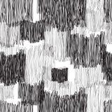 Abstract geometric seamless pattern. Monochrome pencil drawing l. Abstract geometric seamless pattern. Black and white pencil drawing line texture Stylish Royalty Free Stock Photo