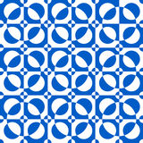 Abstract geometric seamless pattern. Optical illusion. Royalty Free Stock Photos