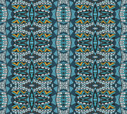 Abstract geometric seamless pattern ornamental Royalty Free Stock Photo