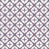 Abstract geometric seamless pattern pink and blue Stock Photography