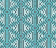 Abstract geometric seamless pattern. With repeating triangles. 2d illustrationn Royalty Free Stock Image
