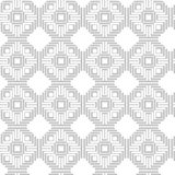Abstract geometric seamless pattern. With repeating triangles. 2d illustrationn Stock Images