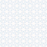 Abstract geometric seamless pattern with rounded triangles. Royalty Free Stock Photography