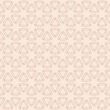 Abstract geometric seamless pattern with rounded triangles. Stock Photo