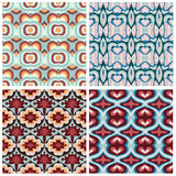 Abstract geometric seamless pattern. Royalty Free Stock Image
