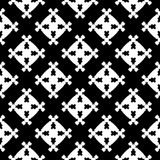 Abstract geometric seamless pattern, square figures Royalty Free Stock Photos