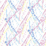 Abstract geometric seamless pattern in tender pastel color. Royalty Free Stock Photography
