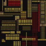 Abstract Geometric seamless pattern. Royalty Free Stock Photo