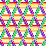 Abstract geometric seamless pattern triangles Royalty Free Stock Photography