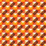 Abstract geometric seamless pattern. Vector background with squa Stock Image