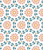 Abstract geometric seamless pattern. Vector pattern - colorful seamless geometrical background. Possibility of change of your color. You can apply it in the wide Stock Images
