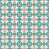 Abstract geometric seamless pattern. Vector pattern - colorful seamless geometrical background. Possibility of change of your color. You can apply it in the wide Royalty Free Stock Photos