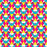 Abstract geometric seamless pattern Royalty Free Stock Photography