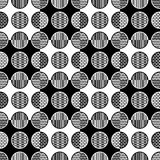 Abstract geometric seamless pattern. Vector format added Stock Photo