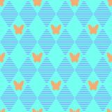 Abstract geometric seamless pattern. Stock Photography