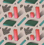 Abstract geometric seamless pattern. Vector illustration eps 10 royalty free illustration