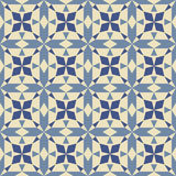 Abstract geometric seamless pattern Royalty Free Stock Image