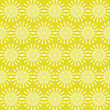 Abstract geometric seamless pattern. Yellow style pattern with circle and line. Royalty Free Stock Photo
