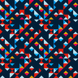 Abstract geometric seamless pattern for your design Stock Photo