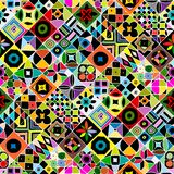Abstract geometric seamless pattern for your design. Vector illustration Stock Photo
