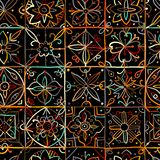 Abstract geometric seamless pattern for your design. Vector illustration royalty free illustration