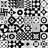Abstract geometric seamless pattern for your design. Vector illustration Royalty Free Stock Images