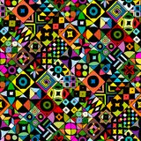 Abstract geometric seamless pattern for your design. Vector illustration Stock Image