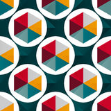 Abstract geometric seamless pattern for your design. Vector illustration abstract high quality royalty free illustration