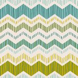 Abstract geometric seamless pattern with zigzag. Trendy hand drawn textures. Modern abstract design for paper, cover, fabric, interior decor and other users royalty free illustration