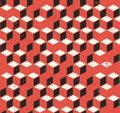 Abstract geometric seamless retro pattern Stock Images