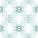 Abstract geometric seamless square pattern. 3d background with high-tech structure Stock Images