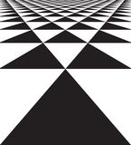 Abstract geometric seamless texture of triangles Stock Photography