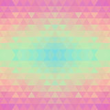 Abstract geometric seamless vector background. Royalty Free Stock Images