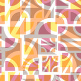 Abstract geometric seamless Royalty Free Stock Photo